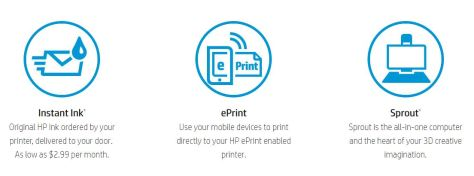 HP Instant Ink Banner